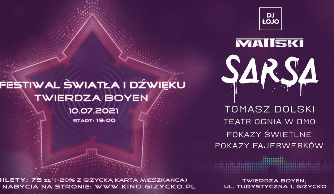 Festiwal Światła i Dźwięku – Twierdza Boyen